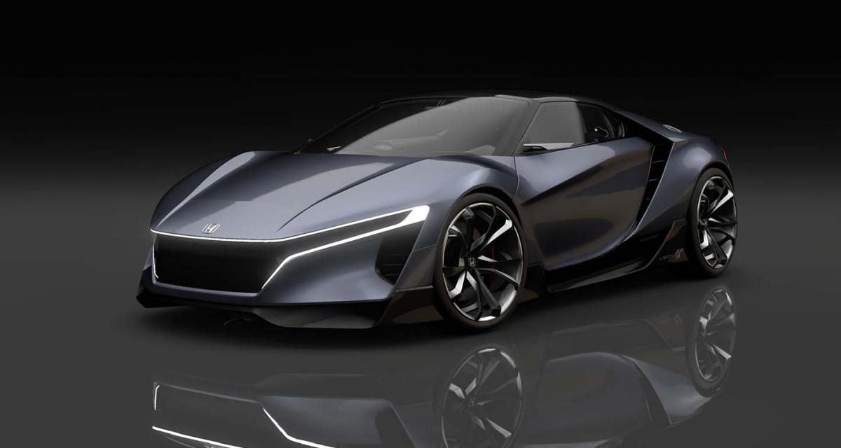 Honda Sports Vision Gran Turismo : une ''baby-NSX'' pour Gran Turismo