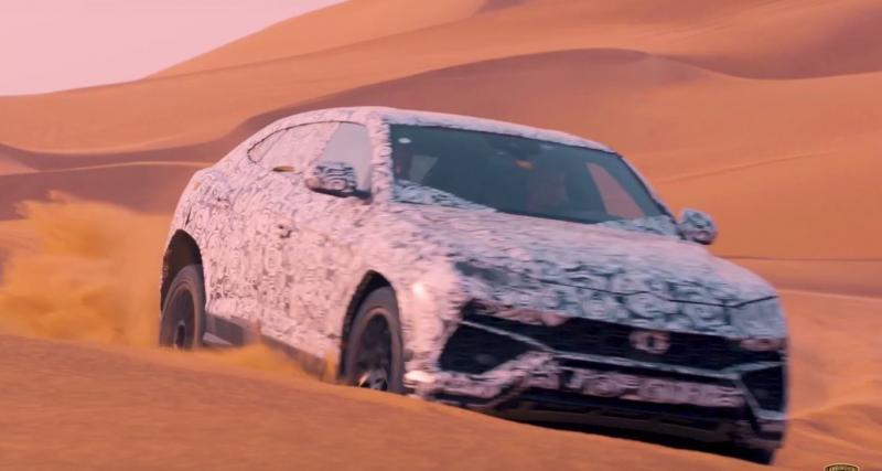 Un inédit mode ''sable'' pour le Lamborghini Urus