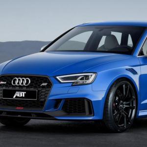 Audi RS3 par ABT: plus puissante que la RS4