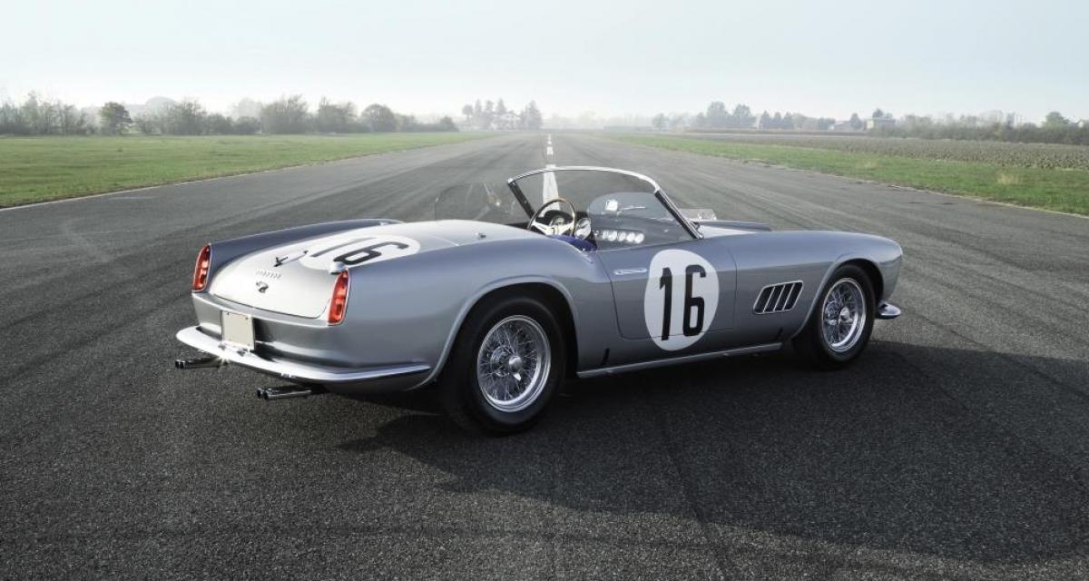 Une rarissime Ferrari 250 de compétition en aluminium passe aux enchères