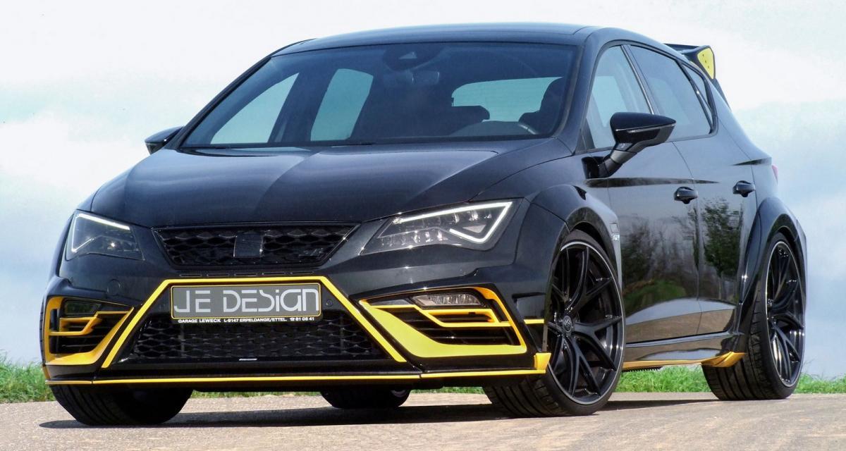 Seat Leon Cupra : 380 ch et un look de Transformers grâce à JE Design