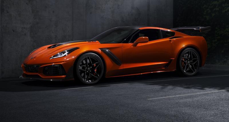 Chevrolet Corvette ZR1: «elle est de retour»