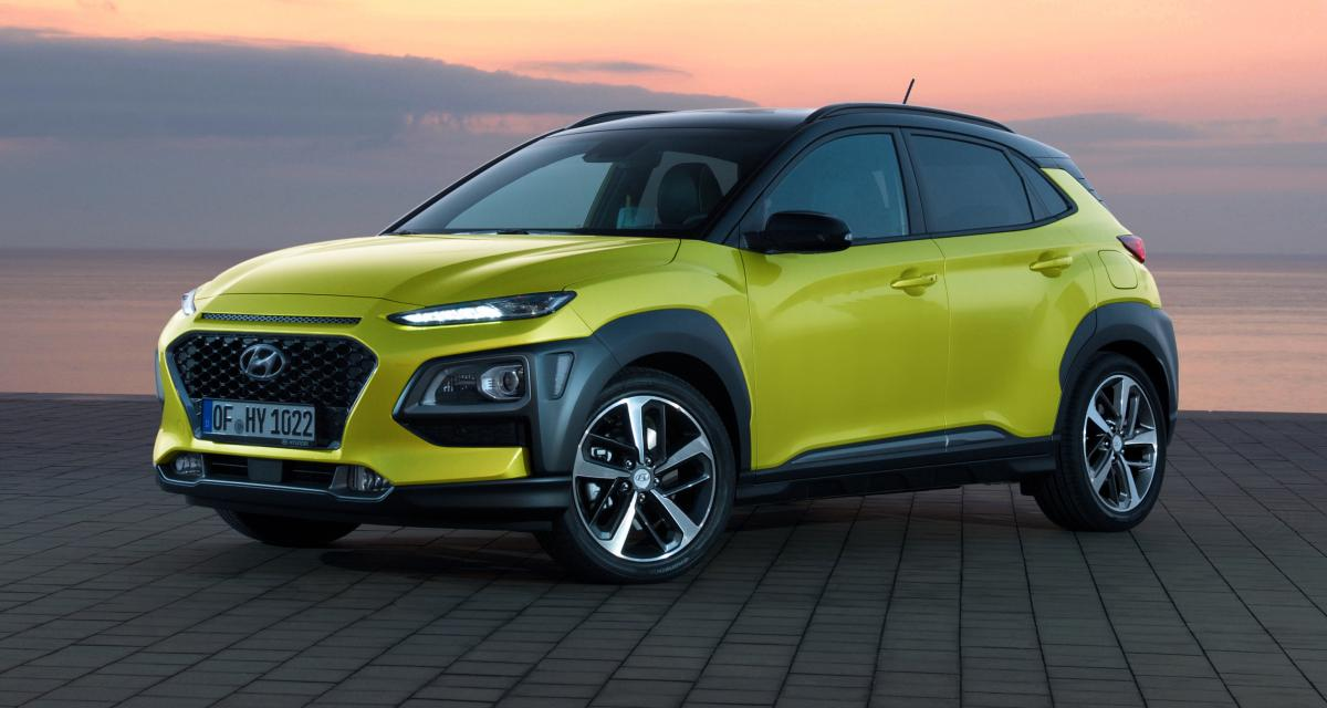 le hyundai kona edition 1 120 ch est en promo 20 500 euros. Black Bedroom Furniture Sets. Home Design Ideas