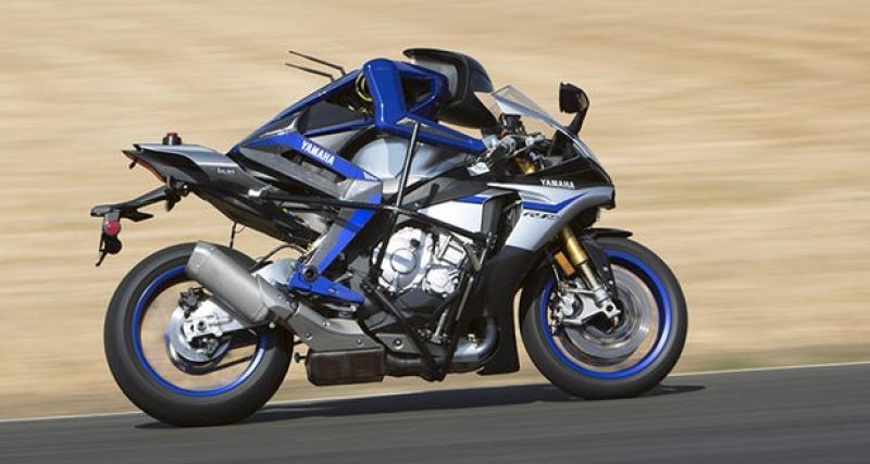 La moto autonome de Yamaha plus rapide que Valentino Rossi ?