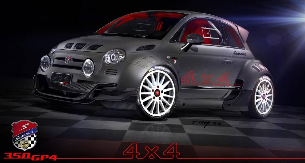 giannini 350 gp4 beaucoup plus qu 39 une simple abarth 4x4. Black Bedroom Furniture Sets. Home Design Ideas