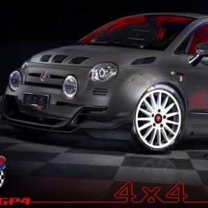 Giannini 350 GP4 : beaucoup plus qu'une simple Abarth 4x4