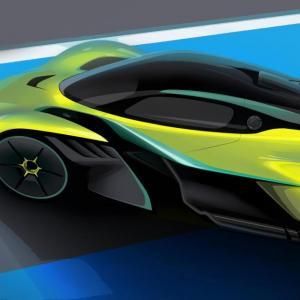 Aston Martin Valkyrie AMR Pro: l'hyper-hypercar