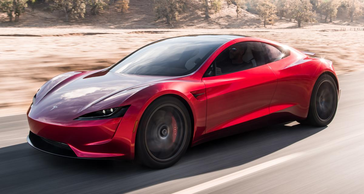 Tesla Roadster : accélération et autonomie records