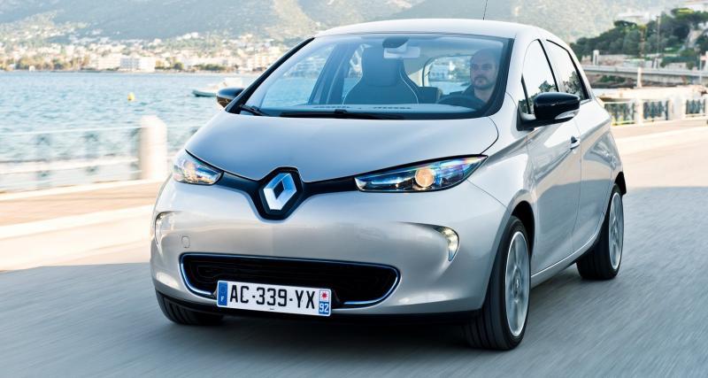 Renault Zoé au rappel: problème de boîte sur la citadine électrique