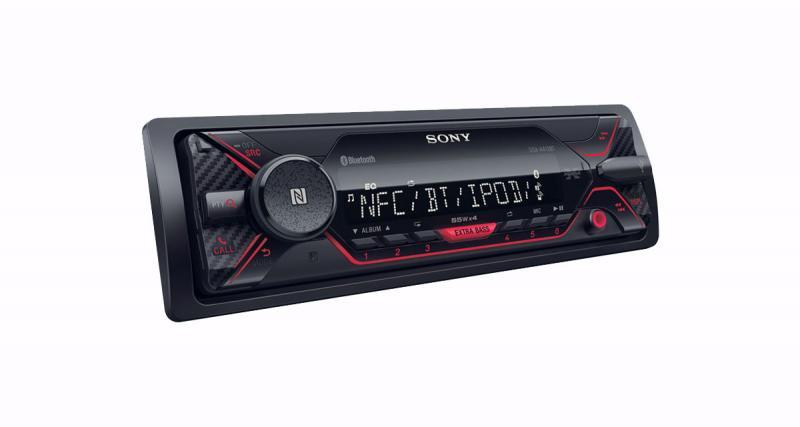 Sony commercialise un nouvel autoradio dédié aux sources nomades à un prix canon