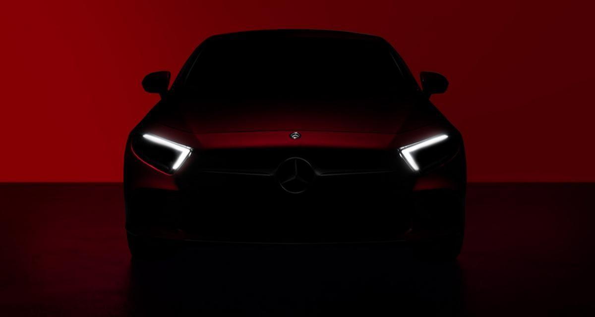 La future Mercedes CLS se dévoile de l'extérieur et de l'intérieur