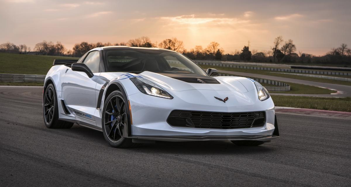 La première Chevrolet Corvette Carbon 65 bientôt vendue pour la fondation Bush
