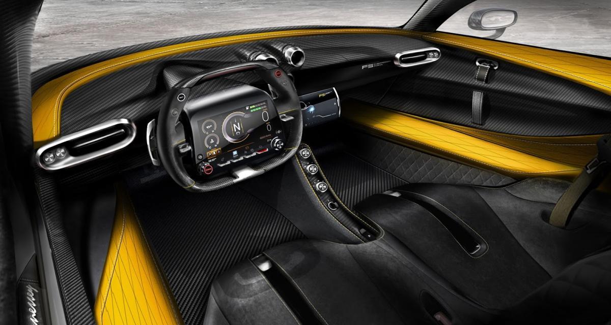 Une option volant-écran pour la Hennessey Venom F5