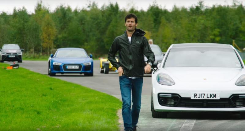 Mark Webber incapable de conduire des Mercedes-AMG dans The Grand Tour