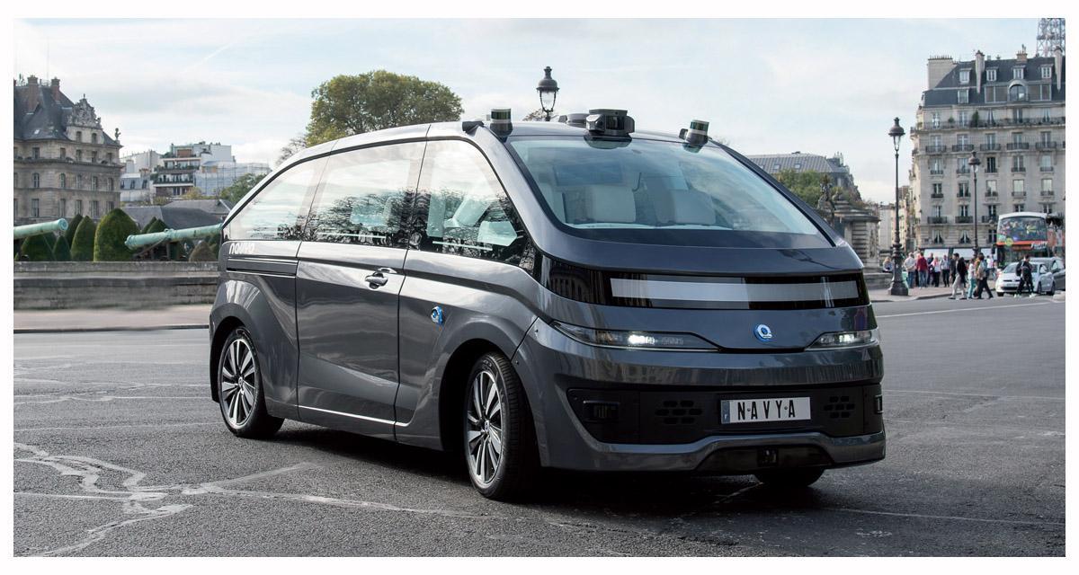 Navya équipe son véhicule autonome Autonom Cab d'un système audio Focal