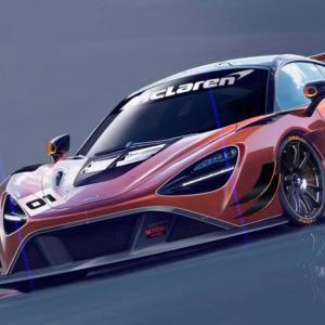 La McLaren 720S GT3 se prépare