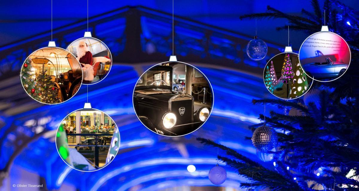 Pour Noël, découvrez le Musée Peugeot de nuit