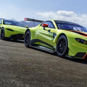 La nouvelle Aston Martin Vantage déjà déclinée en version GTE