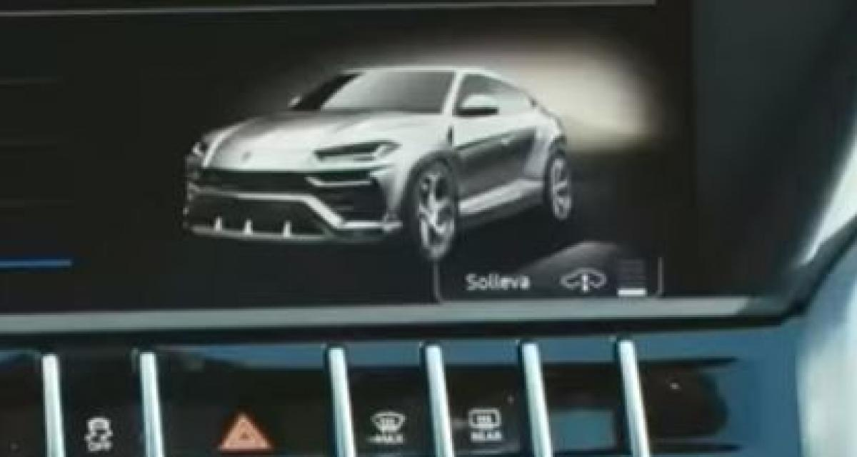 Un style bien différent du concept pour le Lamborghini Urus
