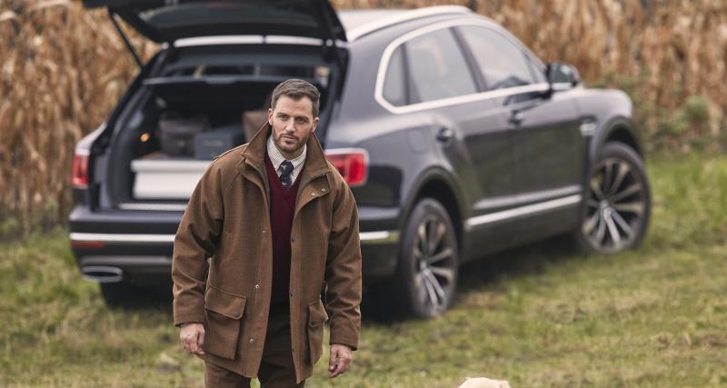Le Bentley Bentayga enfile une tenue de chasse