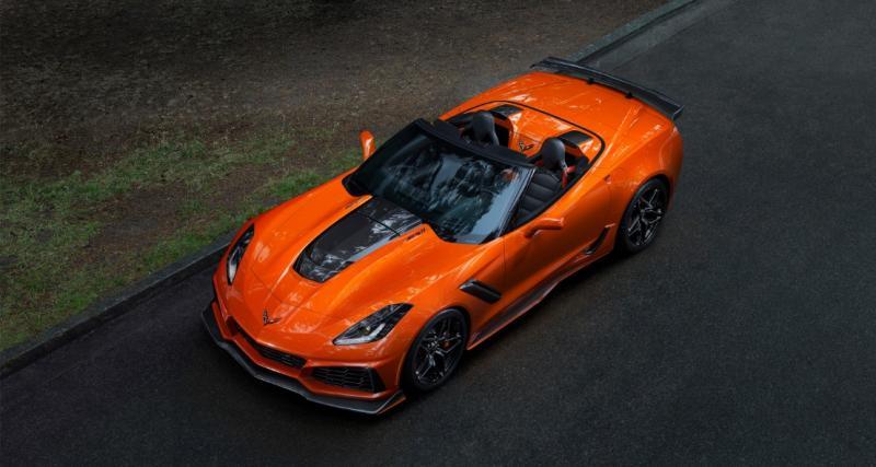 Nouvelle Chevrolet Corvette ZR1 : elle enlève le haut pour Los Angeles