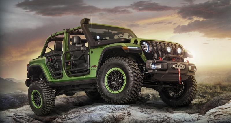 Mopar dévoile le Jeep Wrangler de l'extrême