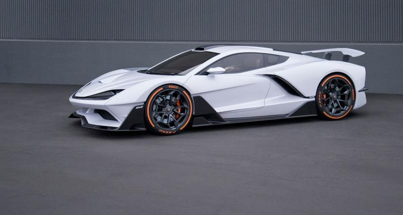 Aria FXE : l'hybride de 1 150 ch à cœur de Corvette