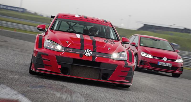La Volkswagen Golf GTI TCR s'offre elle aussi un restylage