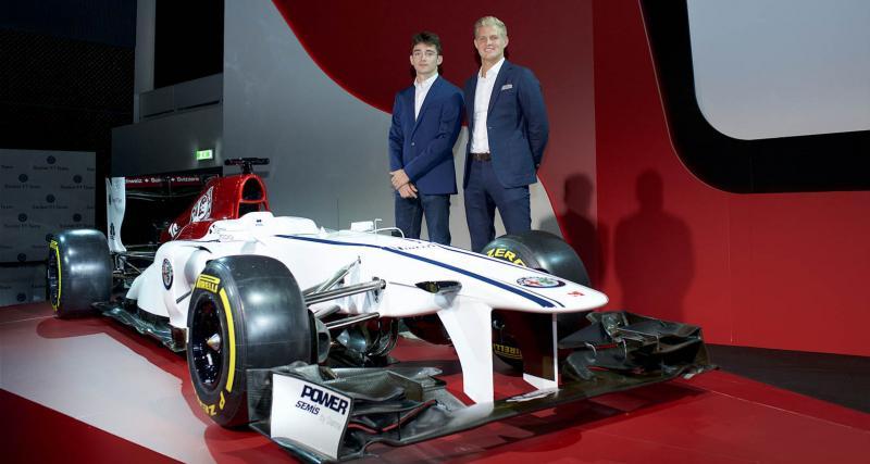 F1 : Charles Leclerc rejoint Alfa Romeo Sauber F1 Team