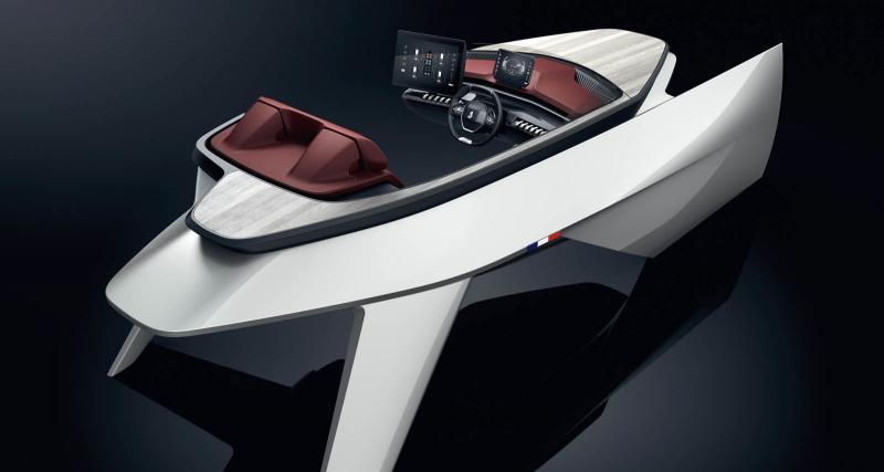 Bientôt un bateau avec un intérieur de Peugeot ?