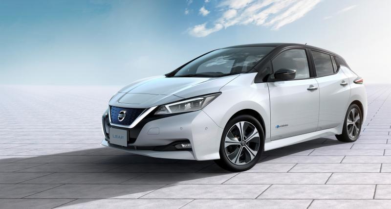 Nouvelle Nissan Leaf : 33 900 euros avant bonus écologique