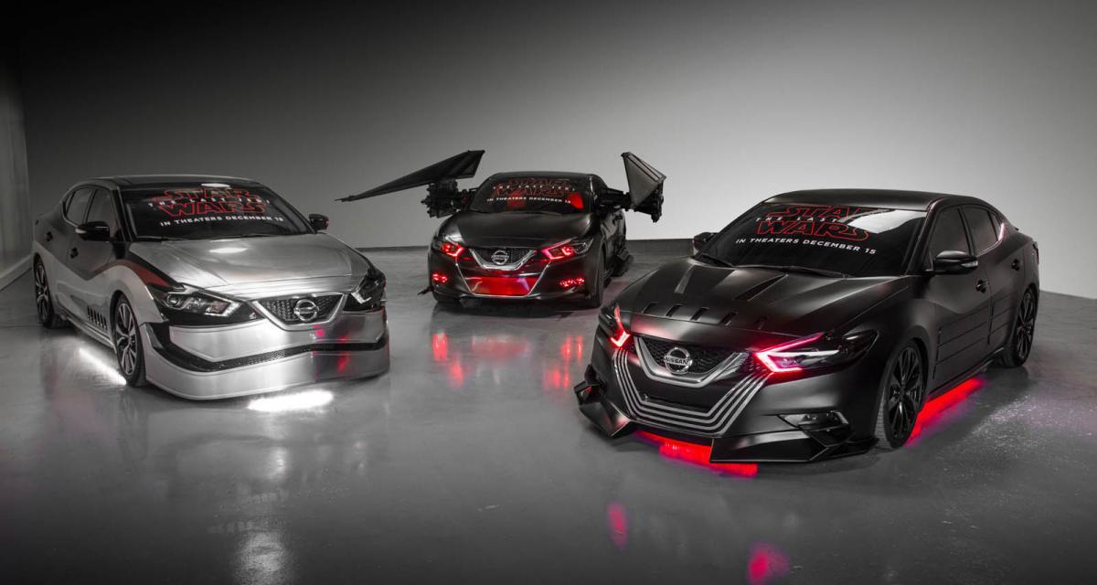 Nissan fait le plein de concepts Star Wars avant ''Les Derniers Jedi''