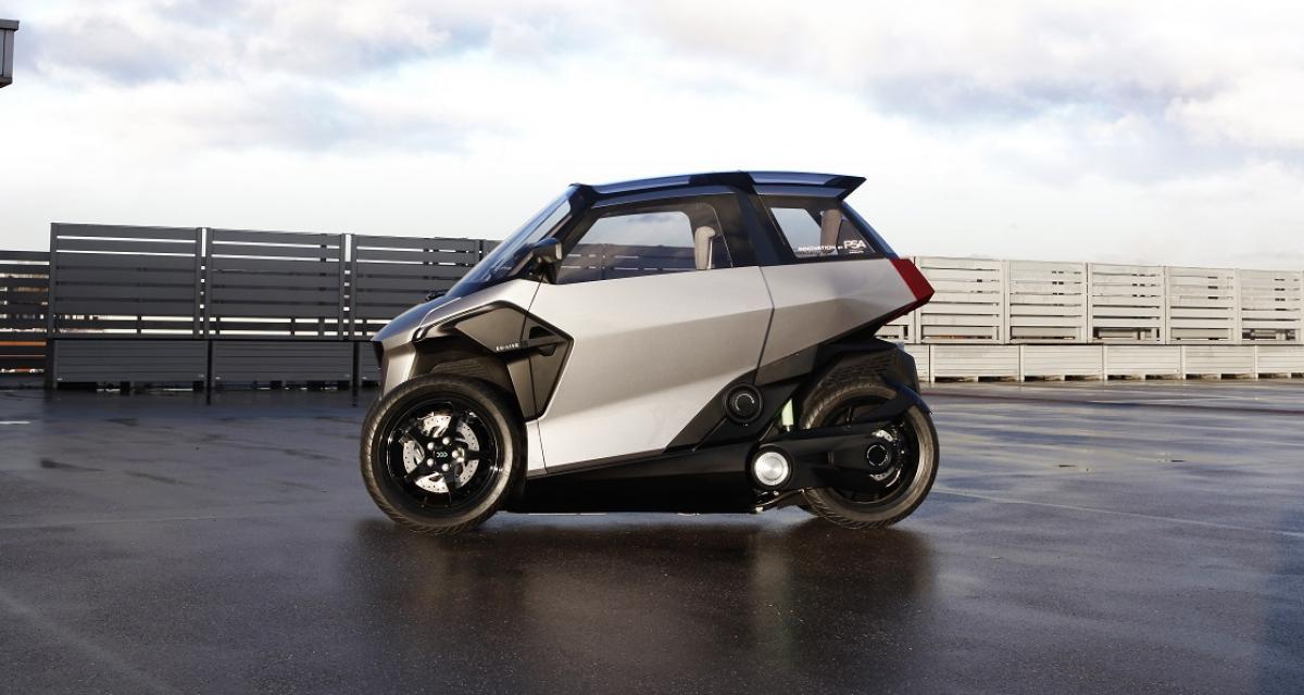 Le groupe PSA à l'origine de ce quadricycle hybride rechargeable