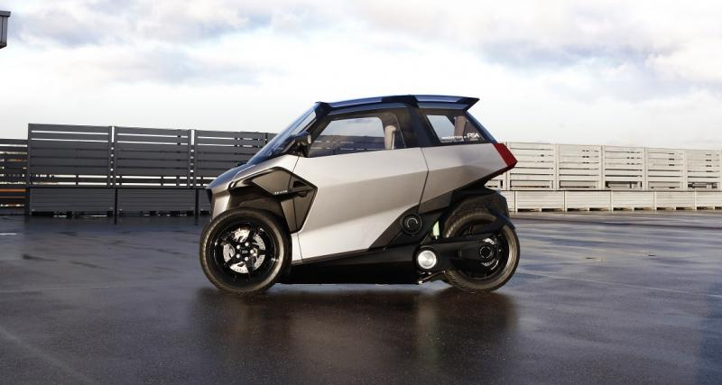 Le groupe PSA à l'origine de ce quadricycle hybride rechargeable