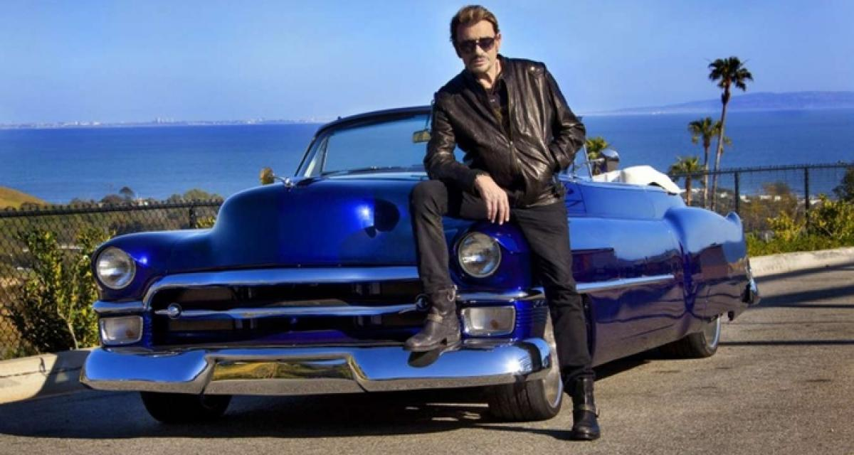 Les bijoux automobiles de Johnny Hallyday