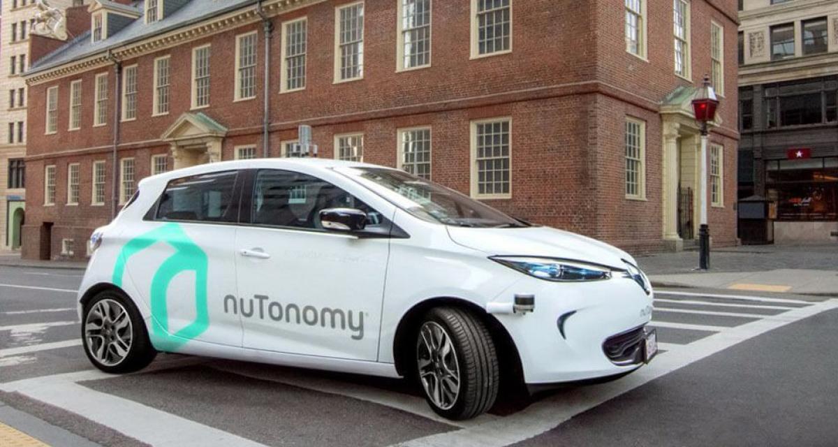 Des Renault Zoe autonomes débarquent aux Etats-Unis