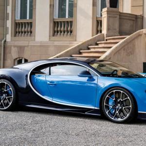 La Bugatti Chiron passe par la case rappel !