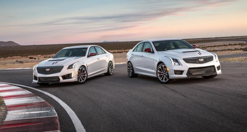 Cadillac ATS-V et CTS-V Championship Edition : le goût de la victoire