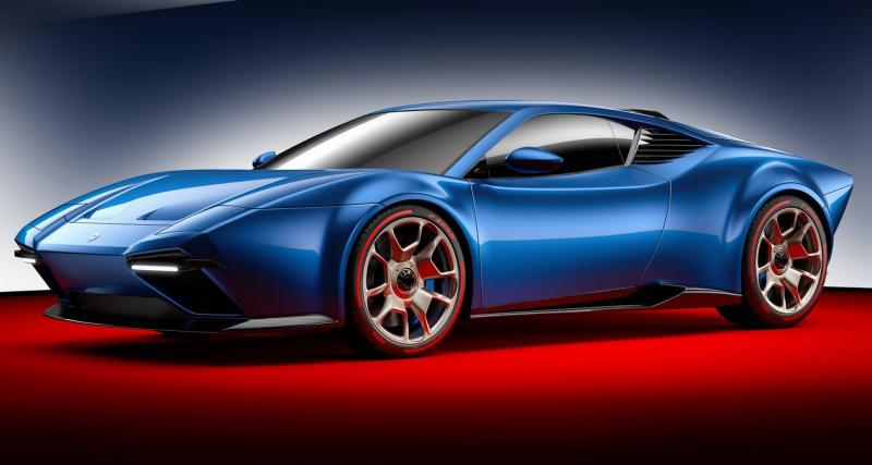 ARES Design invente la De Tomaso Pantera du 21e siècle