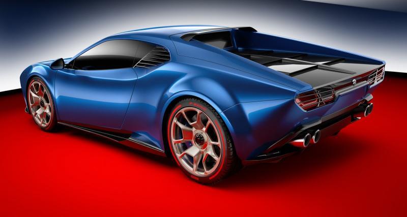 Bye bye le V8 de GT40, buongiorno le V10 de Huracan