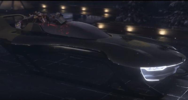 Le nouveau traîneau du Père Noël est signé Renault Sport