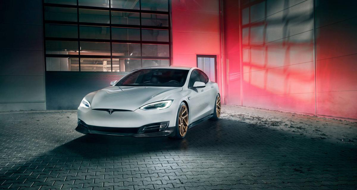 Novitec s'attaque à son tour à la Tesla Model S