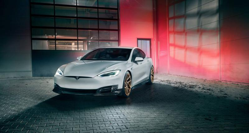 Novitec s'attaque à son tour à la Tesla Model S
