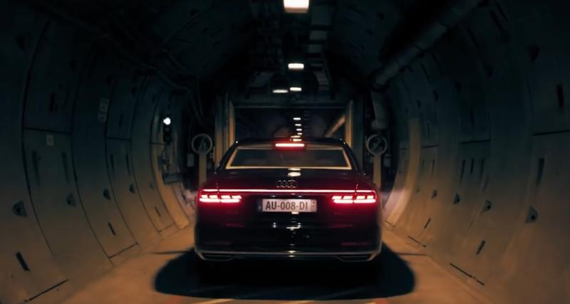 Traversée sous la Manche top secrète pour la nouvelle Audi A8
