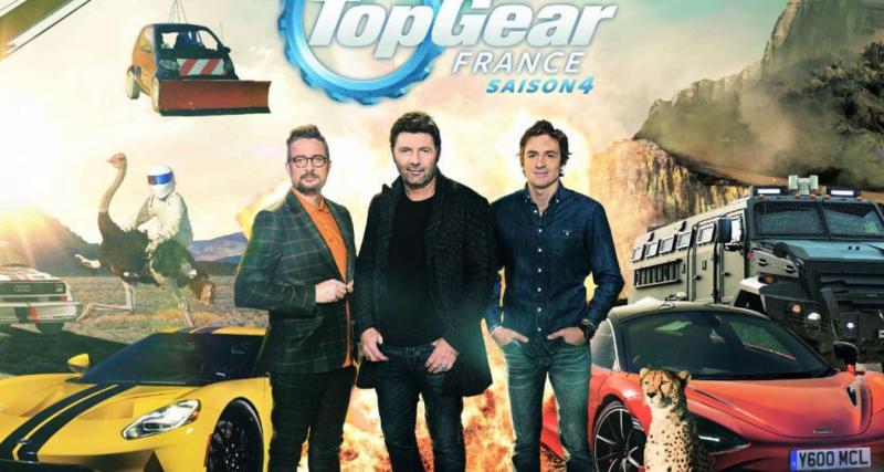 Top Gear France : la saison 4 démarre le 3 janvier