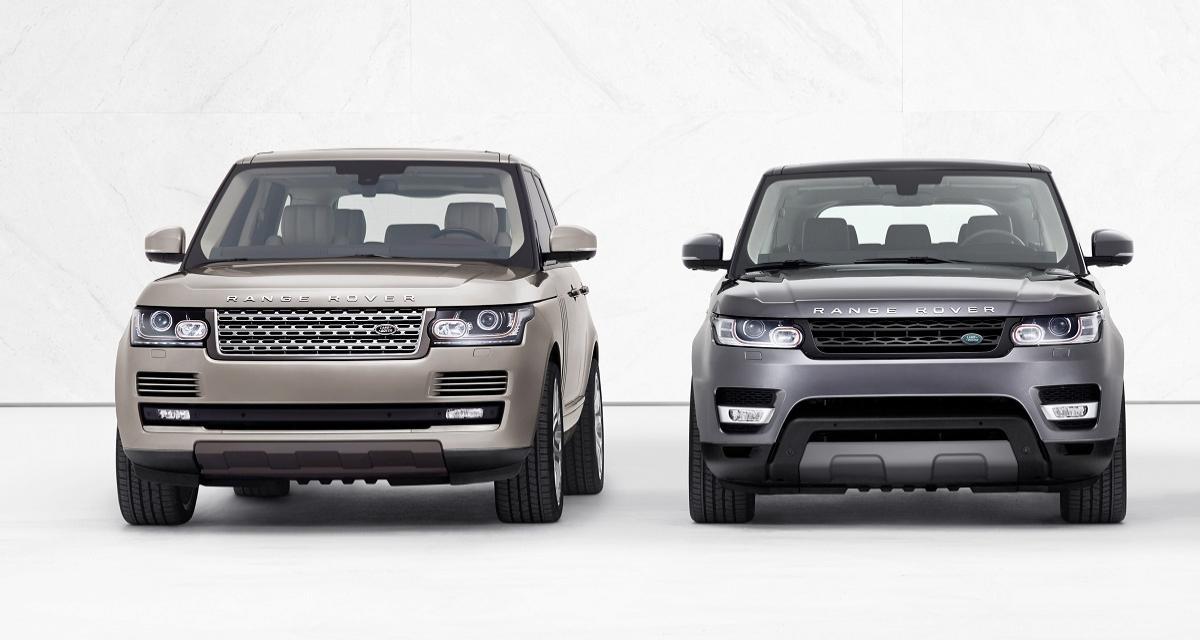 Une instrumentation numérique qui s'éteint toute seule détectée sur les Range Rover et Range Rover Sport