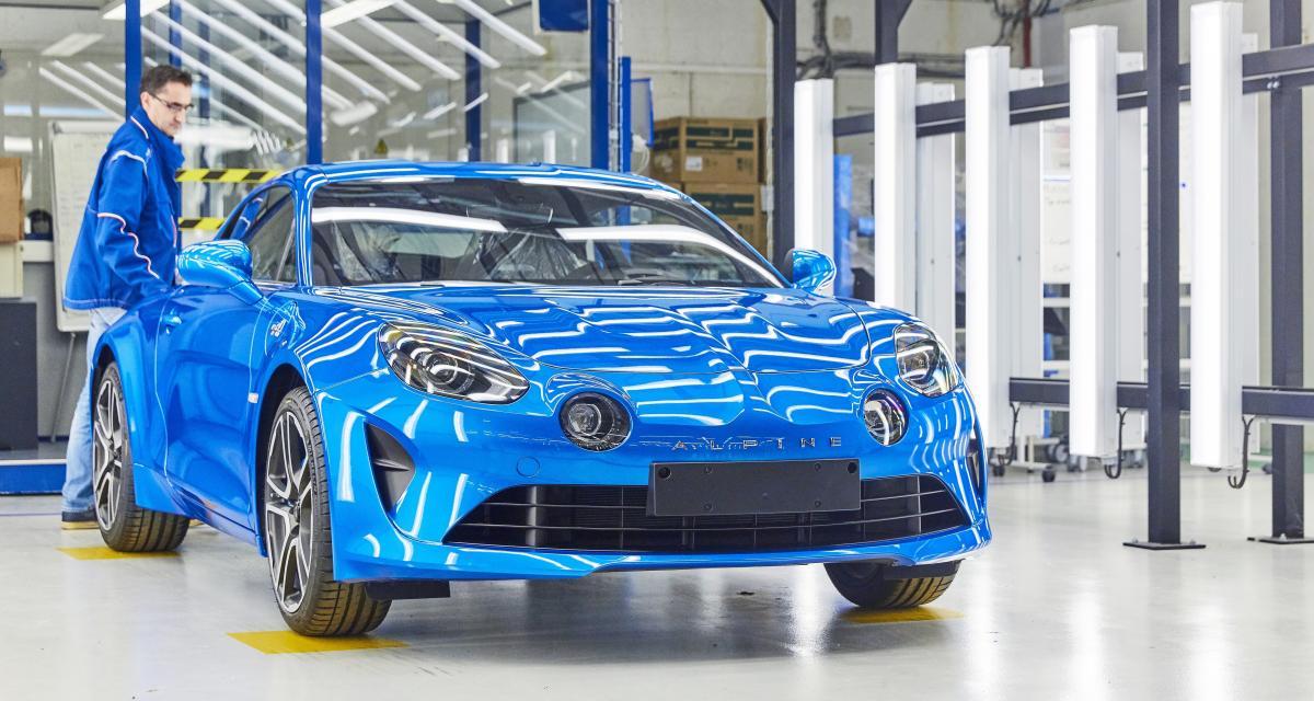 Alpine A110 : lancement de la production à Dieppe en présence du ministre de l'Economie