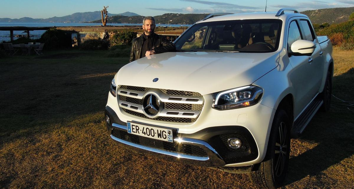 Essai Mercedes Classe X: quand le pick-up devient premium