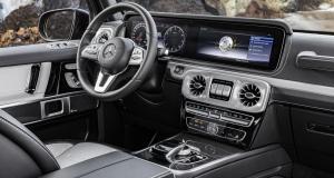 Nouveau Mercedes Classe G : premières photos de l'habitacle