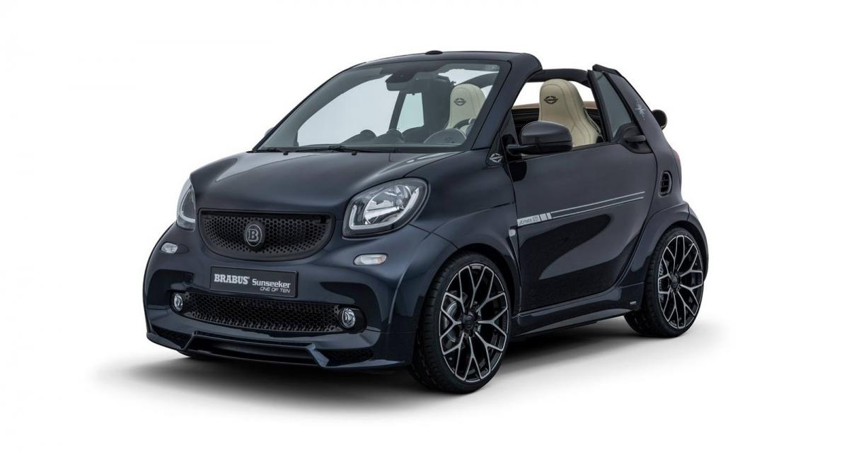 Smart Brabus ForTwo Sunseeker : la Smart à 60000 euros !